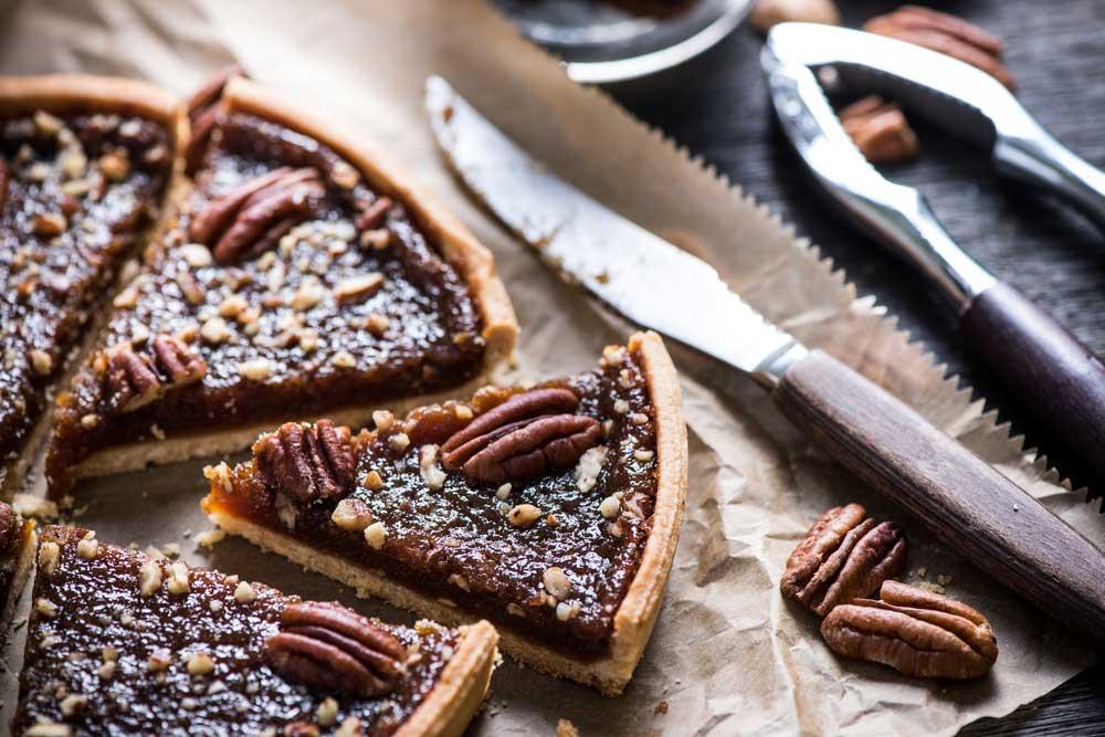 Bánh Pecan nổi tiếng là giàu chất béo và Calo