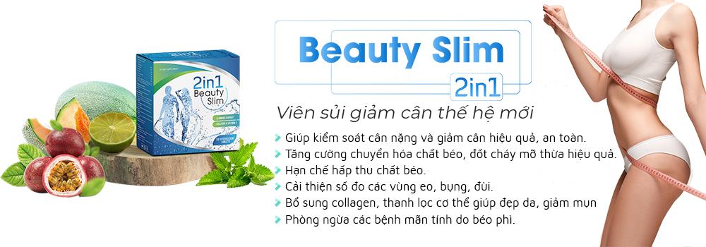 Beauty Slim có công dụng giảm cân nhanh và làm đẹp