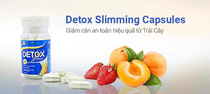 """Detox Slimming Capsules là một """"sự lựa chọn hoàn hảo"""""""