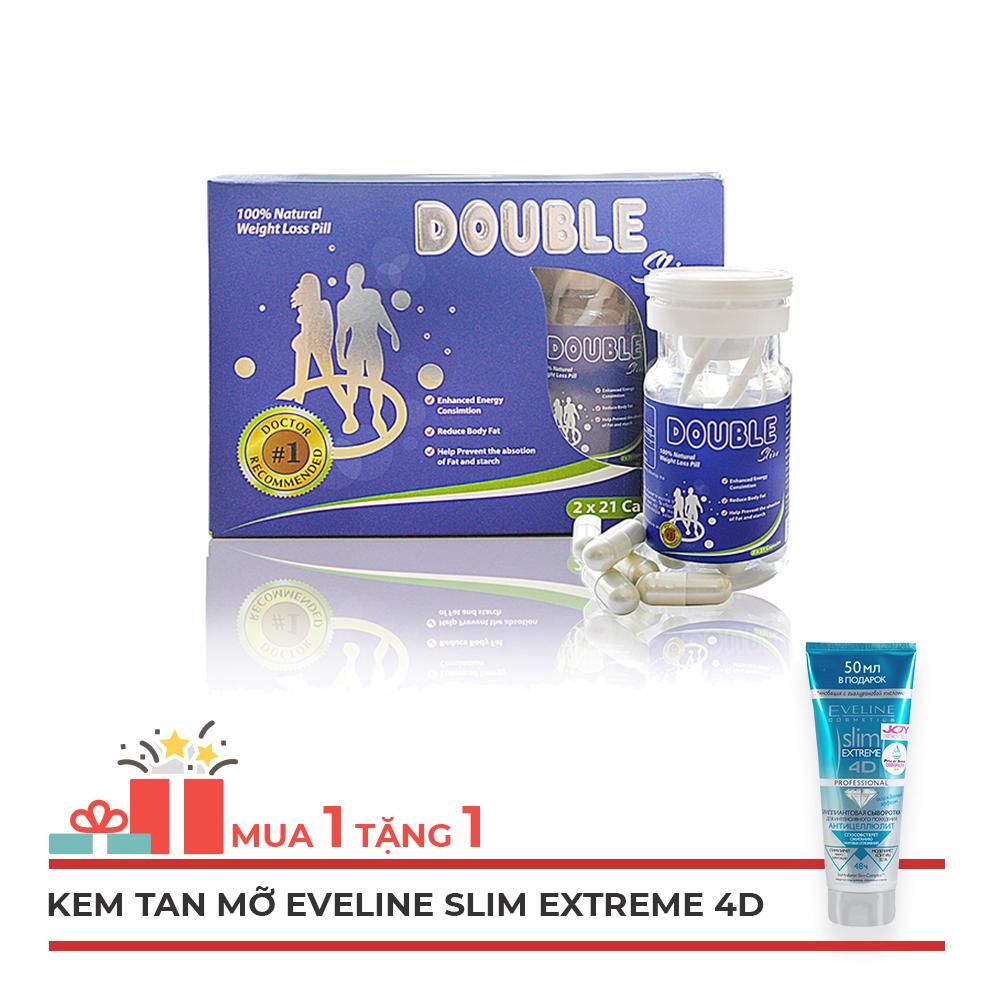 Viên uống giảm cân Double Slim bí quyết cho dáng đẹp eo thon