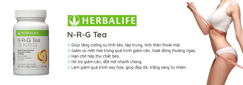 Trà giảm cân Herbalife N-R-G giúp giảm cân, tăng cường sự tỉnh táo, tập trung