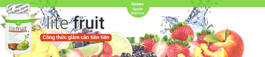 Viên giảm cân Lite Fruit USA giảm cân an toàn hiệu quả