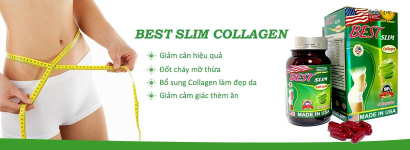 Công dụng chính của viên uống Best Slim Collagen