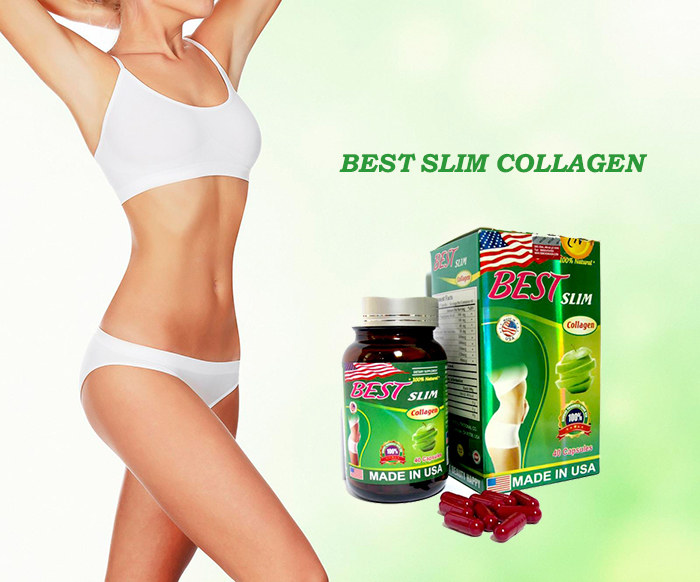 Best Slim Collagen Bí quyết cho vòng eo thon gọn không mỡ thừa
