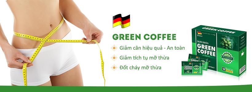 Green Coffee đốt cháy mỡ thừa giảm cân hiệu quả