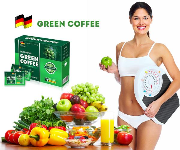 Green Coffee bí quyết giảm cân giữ vóc dáng thon gọn
