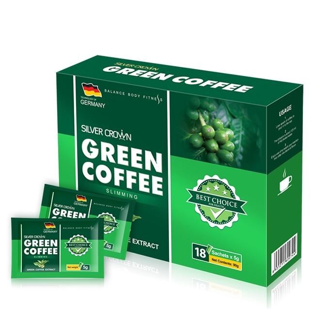 Cà phê giảm cân Green Coffee giúp giảm cân hiệu quả