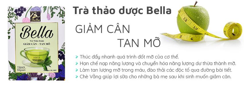 Trà giảm cân Bella là công thức giảm cân tự nhiên