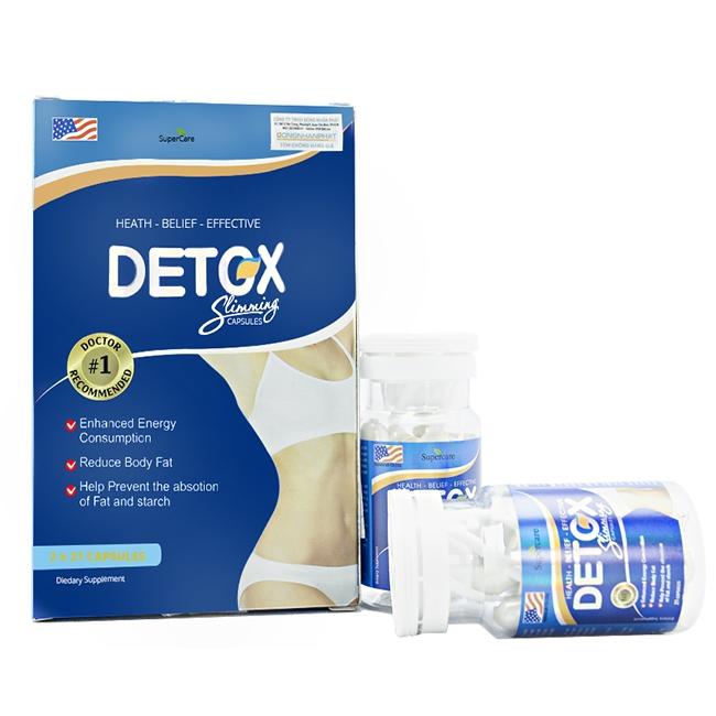 Detox Slimming là sản phẩm xuất xứ từ Mỹ