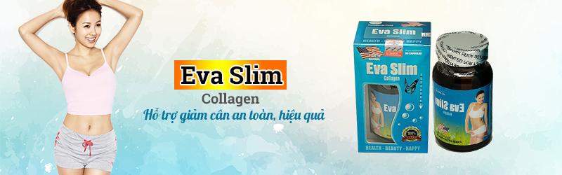 Eva Slim Collagen USA hỗ trợ giảm cân an toàn, hiệu quả