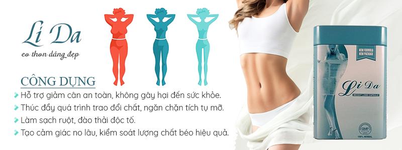 Thuốc giảm cân Lida Thái Lan, giảm cân chỉ sau 1 - 2 liệu trình