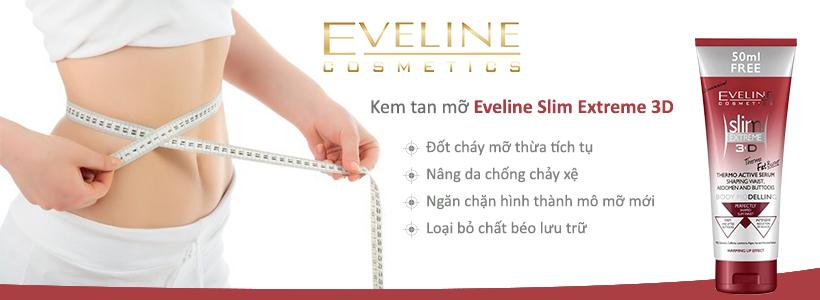 Kem tan mỡ Eveline Slim Extreme 3D