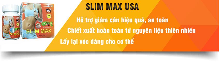 Slim Max USA hỗ trợ giảm cân an toàn hiệu quả