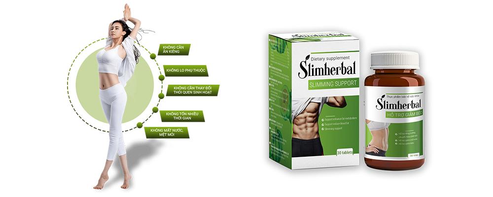 Slimherbal giảm cân nhanh chóng và an toàn