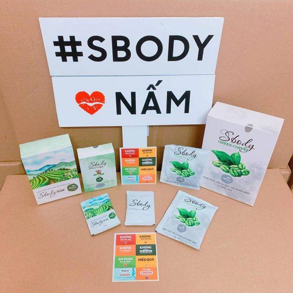Sbody Slim Nấm giúp giảm cân, tan mỡ hiệu quả