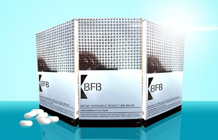 Gảm cân BFB được chiết xuất từ các thành phần thảo dược tự nhiên