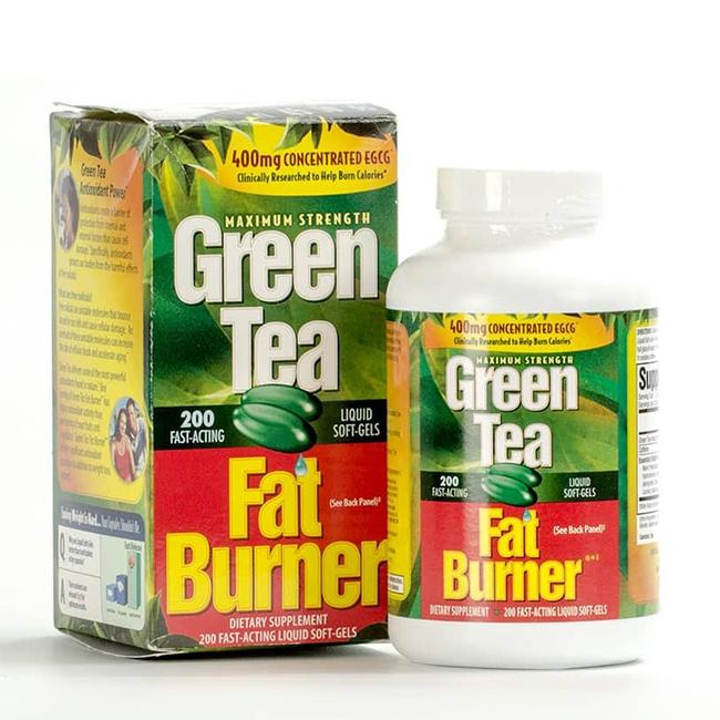 Green Tea Fat Burner 400mg bí quyết giảm cân hiệu quả