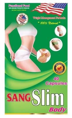 Sang Slim chiết xuất từ các thành phần thảo dược tự nhiên