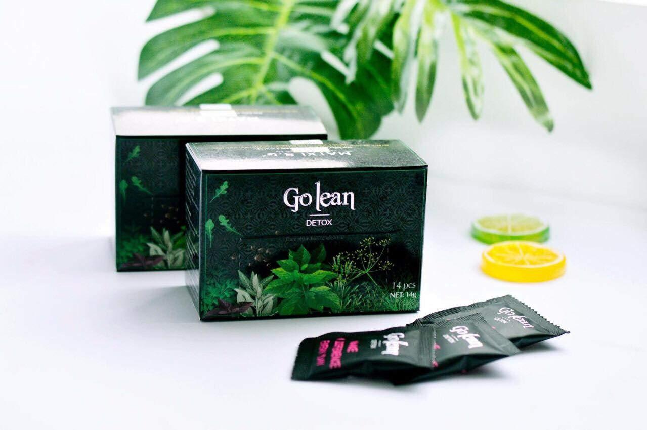 Golean Detox được chiết xuất hoàn toàn từ thảo dược thiên nhiên