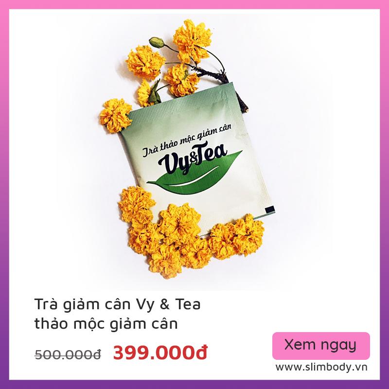 Trà giảm cân Vy Tea mua tại slimbody chính hãng 100%