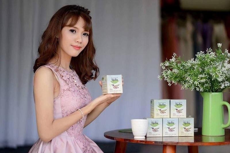 Sử dụng trà thảo mộc giảm cân Vy&Tea mỗi ngày để thanh lọc cơ thể