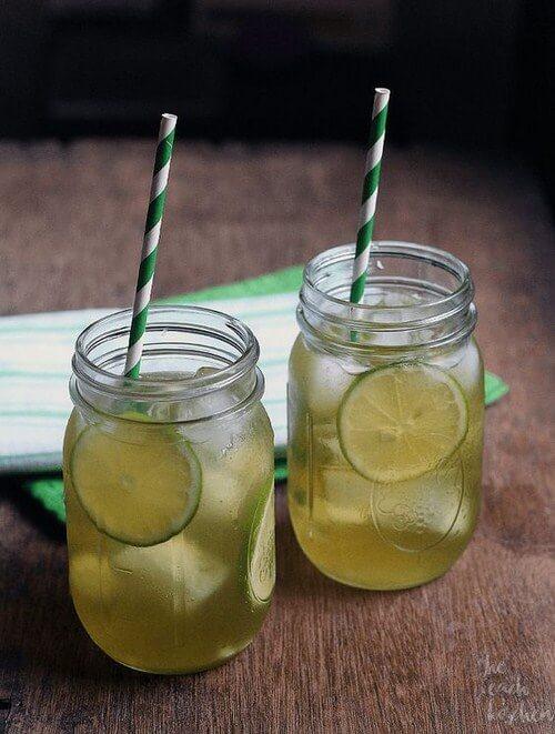 Bí quyết giảm cân hiệu quả bằng trà xanh tươi và chanh