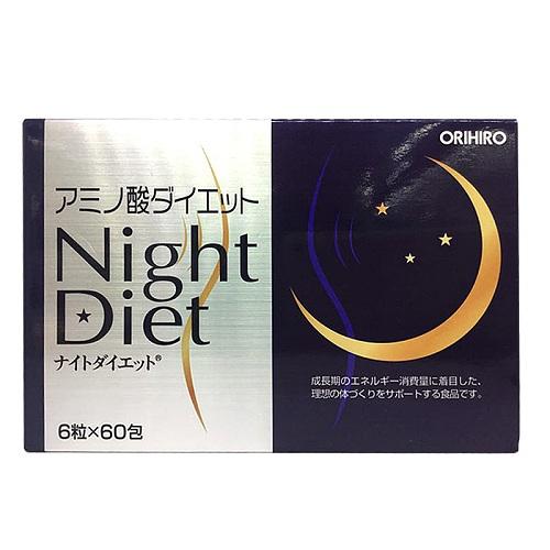 Viên uống giảm cân Night Diet Orihiro Nhật Bản (Hộp 60 gói)