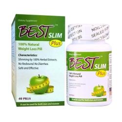 Viên giảm cân Best Slim Plus - Giảm cân an toàn, nhanh chóng, hiệu quả