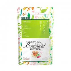 Trà giảm cân Botanical Diet Tea Orihiro Nhật bản | Túi 20 gói x 2g