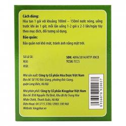 Trà giảm cân Kingphar Slim thảo dược tự nhiên đốt cháy mỡ thừa
