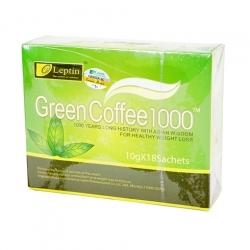 Trà giảm cân Leptin Green Coffee 1000 của Mỹ