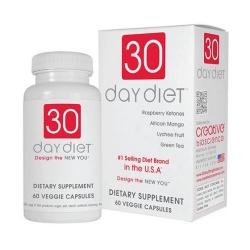 Viên giảm cân 30 Day Diet của USA Hộp 60 viên