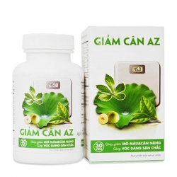 Viên giảm cân AZ giảm mỡ trong máu hỗ trợ giảm cân