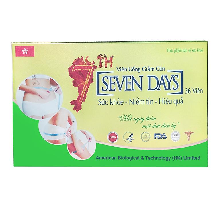Giảm cân trong 7 ngày với viên uống giảm cân Seven Days