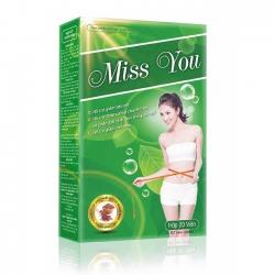 Miss You giúp giảm cân an toàn, Hộp 20 viên