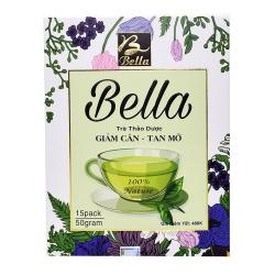 Trà giảm cân Bella thảo dược giảm cân tan mỡ