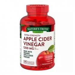 Viên uống giảm cân Apple Cider Vinegar 1200mg, Chai 180 viên