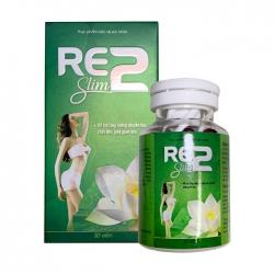 Viên uống giảm cân Re2 Slim, Hộp 30 viên